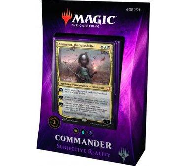 MTG: Commander 2018: Subjective Reality