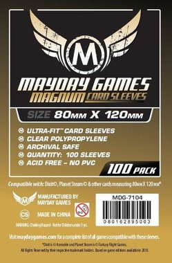 Mayday Card Sleeves: Ultra Fit (80x120mm) - 100 stuks
