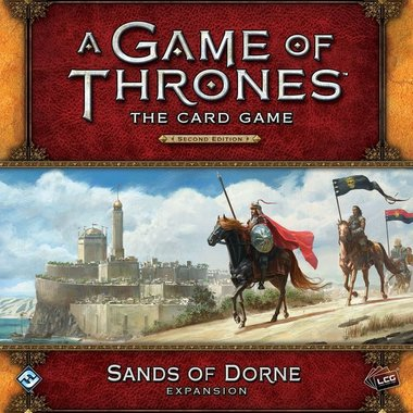 A Game of Thrones: The Card Game (Second Edition) - Sands of Dorne