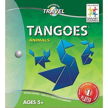 Tangoes - Animals (Magnetic Travel Games) (5+)