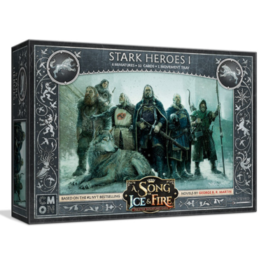 A Song of Ice & Fire: Tabletop Miniatures Game - Stark Heroes 1