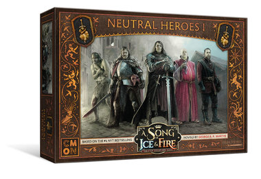 A Song of Ice & Fire: Tabletop Miniatures Game - Neutral Heroes 1
