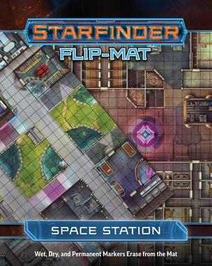 Starfinder Flip-Mat: Space Station