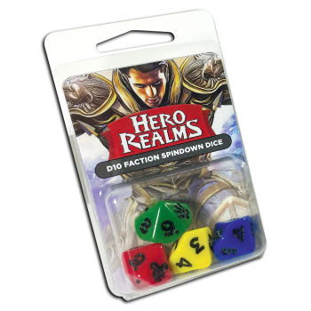Hero Realms: D10 Faction Spindown Dice (Legion)