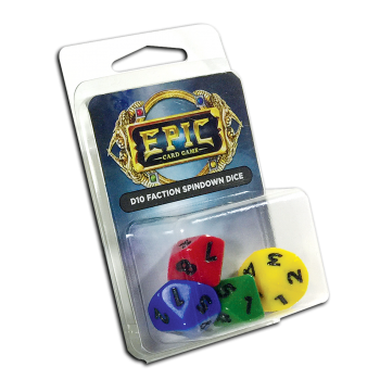 Epic: D10 Faction Spindown Dice (Legion)
