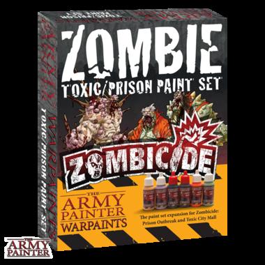 Warpaints Zombicide Toxic/Prison Set (The Army Painter)