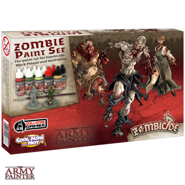 Warpaints Zombicide Black Plague Set (The Army Painter)