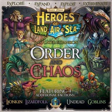 Heroes of Land, Air & Sea: Order & Chaos