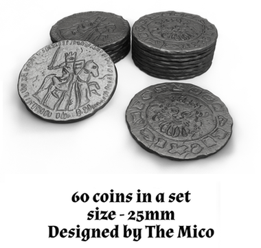Robin Hood and the Merry Men: Metal Coins