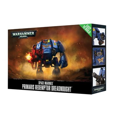 Warhammer 40,000 - Primaris Redemptor Dreadnought (Easy to Build)
