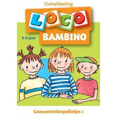 Bambino Loco - Concentratiespelletjes 1 (3-5 jaar)