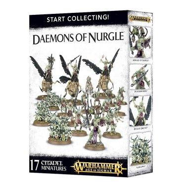 Warhammer: Age of Sigmar - Start Collecting! Daemons of Nurgle