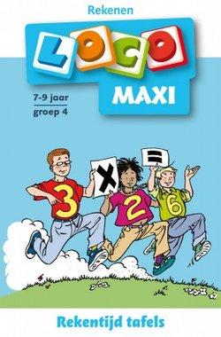 Maxi Loco - Rekentijd Tafels (7-9 jaar)