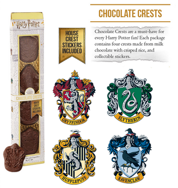 Harry Potter: Chocolate Crests