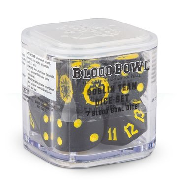Blood Bowl: Goblin Team Dice Set