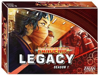 Pandemic Legacy Red [NL]