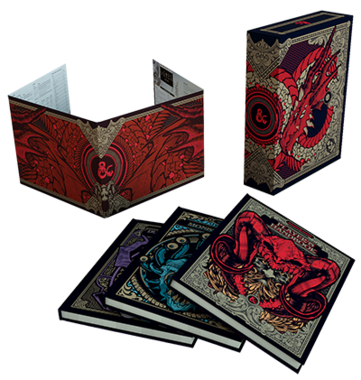 Dungeons & Dragons: Core Rules Gift Set [LIMITED EDITION]