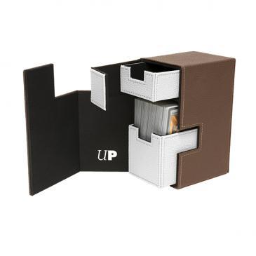 Ultra Pro M2 Deck Box (Brown/White)