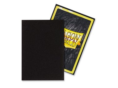 Dragon Shield Card Sleeves: Japanese Matte Black (59x86mm) - 60 stuks