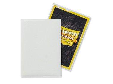 Dragon Shield Card Sleeves: Japanese Matte White (59x86mm) - 60 stuks