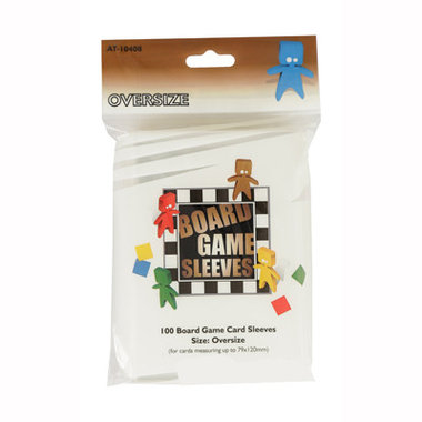 Board Game Sleeves: Oversize (79x120mm) - 100