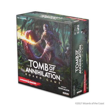 Dungeons & Dragons: Tomb of Annihilation Adventure System Board Game [STANDARD EDITION]