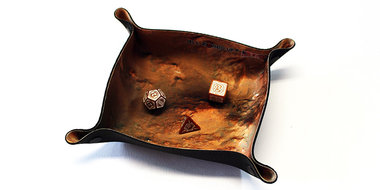 Dice Tray Compact: Mars (All Rolled Up)
