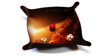 Dice Tray Compact: Collision (All Rolled Up)