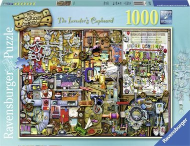 The Inventors Cupboard - Puzzel (1000)