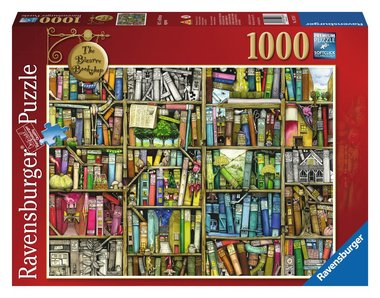 The Bizarre Bookshop - Puzzel (1000)