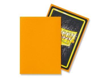 Dragon Shield Card Sleeves: Standard Matte Orange (63x88mm) - 100 stuks
