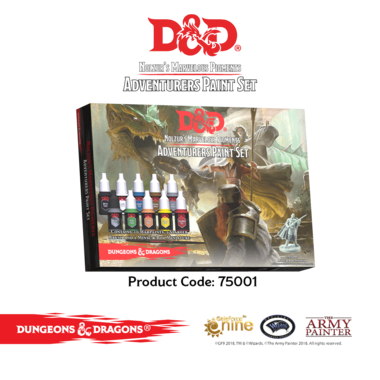 D&D Adventurers Paint Set (The Army Painter)