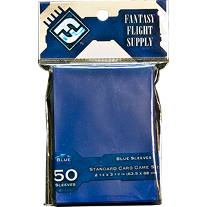 Fantasy Flight Game Sleeves (Blue): Standard (63,5x88mm) - 50 stuks