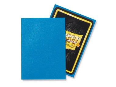 Dragon Shield Card Sleeves: Standard Matte Sapphire (63x88mm) - 100 stuks