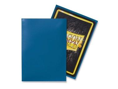 Dragon Shield Card Sleeves: Standard Blue (63x88mm) - 100 stuks