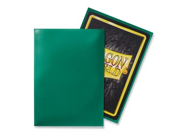 Dragon Shield Card Sleeves: Standard Green (63x88mm) - 100 stuks