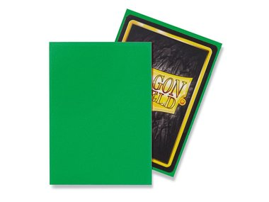 Dragon Shield Card Sleeves: Standard Matte Apple Green (63x88mm) - 100 stuks