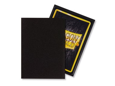 Dragon Shield Card Sleeves: Standard Matte Black (63x88mm) - 100 stuks