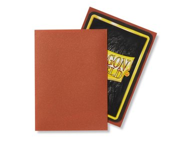 Dragon Shield Card Sleeves: Standard Matte Copper (63x88mm) - 100 stuks
