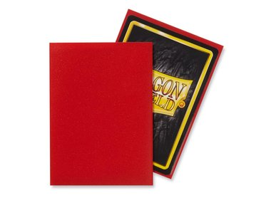 Dragon Shield Card Sleeves: Standard Matte Crimson (63x88mm) - 100 stuks