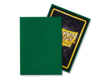 Dragon Shield Card Sleeves: Standard Matte Green (63x88mm) - 100 stuks