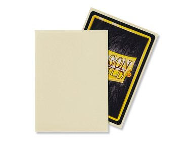 Dragon Shield Card Sleeves: Standard Matte Ivory (63x88mm) - 100 stuks