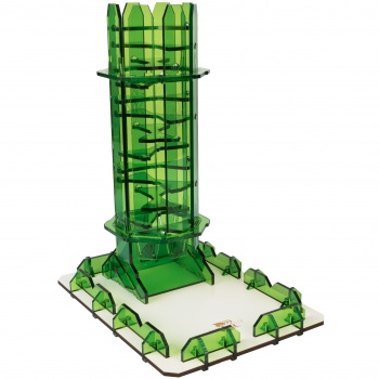 Blackfire Dice Tower (Emerald Twister)