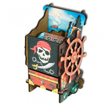 Blackfire Dice Tower: Pirate