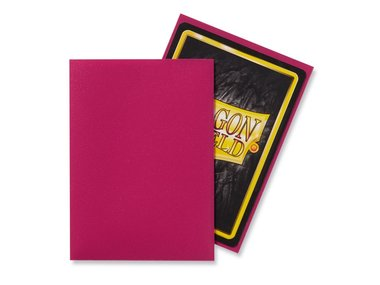 Dragon Shield Card Sleeves: Standard Matte Magenta (63x88mm) - 100 stuks