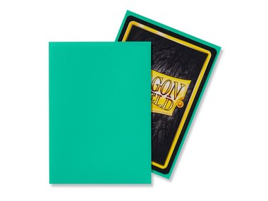 Dragon Shield Card Sleeves: Standard Matte Mint (63x88mm) - 100 stuks