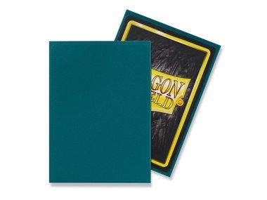 Dragon Shield Card Sleeves: Standard Matte Petrol (63x88mm) - 100 stuks