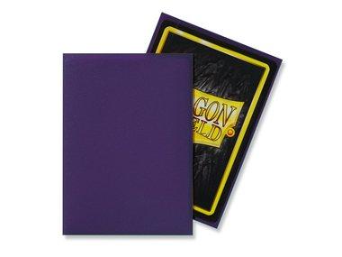 Dragon Shield Card Sleeves: Standard Matte Purple (63x88mm) - 100 stuks