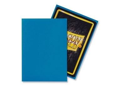 Dragon Shield Card Sleeves: Standard Matte Sky Blue (63x88mm) - 100 stuks
