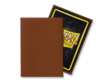 Dragon Shield Card Sleeves: Standard Matte Umber (63x88mm) - 100 stuks